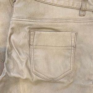 YIGAL AZROUEL Leather Skinny Jeans Sz 6